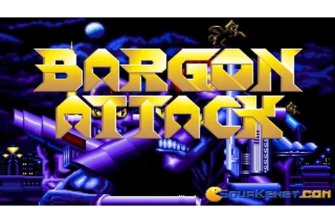 Bargon Attack gameplay (PC Game, 1992) - YouTube