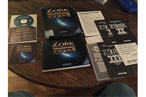 Zork Anthology IBM Mac Big Box CD Game Old PC1 | eBay