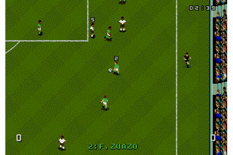 World Cup USA '94 (1993) by Tiertex Mega Drive game