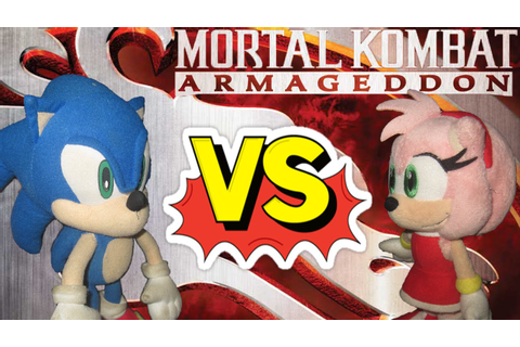 ABM: Sonic Vs Amy Mortal Kombat Armageddon! HD - YouTube
