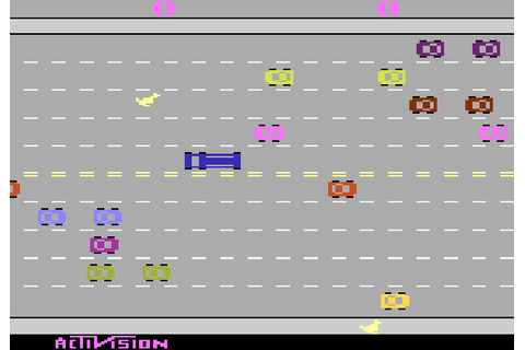 AtariAge - Atari 2600 Screenshots - Freeway (Activision)