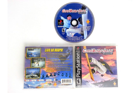 Cool Boarders 2001 game for Playstation (Complete) | The ...