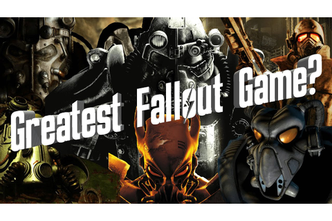 Fallout Fives | Greatest Fallout Games | Outdated - YouTube