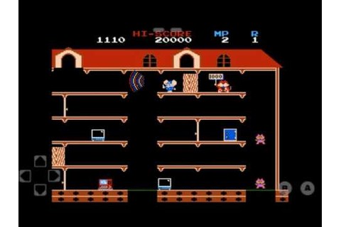 Video Game - Mappy - YouTube