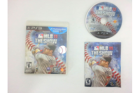 MLB 11: The Show game for Sony Playstation 3 PS3 -Complete ...