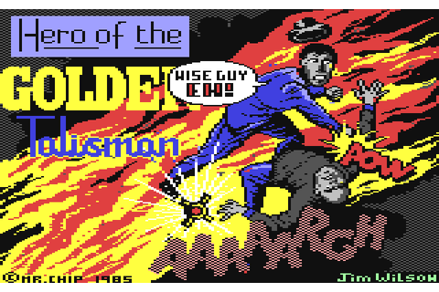 Hero of the Golden Talisman (1985) by Mr. Chip Software ...