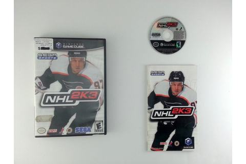 NHL 2K3 game for Gamecube (Complete) | The Game Guy