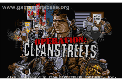 Operation: Cleanstreets - Atari ST - Games Database