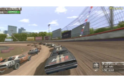 PS2 - Test Drive Eve of Destruction Whip Around Race - YouTube
