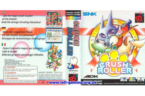 Lofi-Gaming Museum: Games: Crush Roller | deKay's Lofi-Gaming