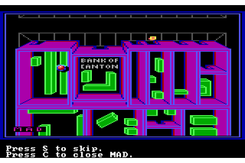 Manhunter 2: San Francisco (1989) by Evryware MS-DOS game