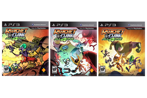 Ratchet & Clank: All 4 One – Behind the Box Art ...
