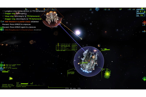 Starsector: In battle, transferring command from a ...