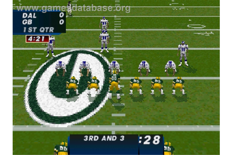 Madden NFL '97 - Sega Saturn - Games Database