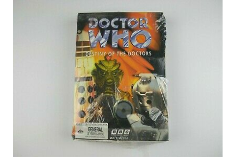 NEW Doctor Who: Destiny of the Doctors PC Game 1997 | BBC ...
