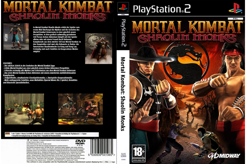 KML GAMES: Mortal Kombat Shaolin Monks