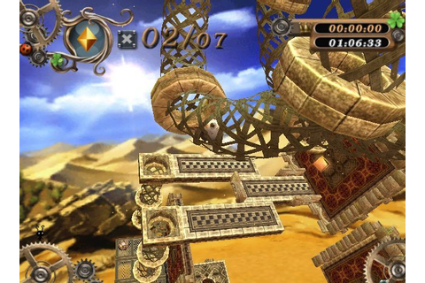 Marble Saga: Kororinpa (Wii) Screenshots