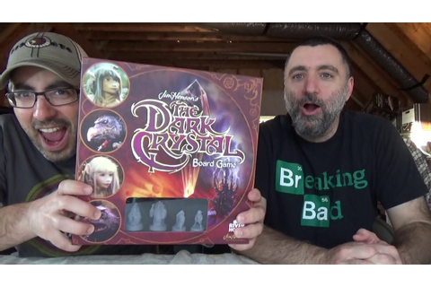 THE DARK CRYSTAL (BOARD GAME) - YouTube