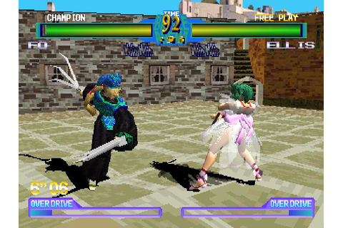 Battle Arena Toshinden 2 Plus (1996) by Tamsoft PS game