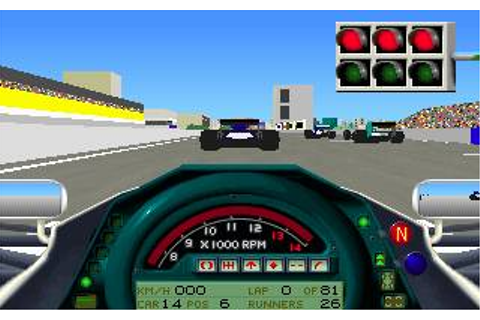 Formula One Grand Prix Download (1992 Simulation Game)