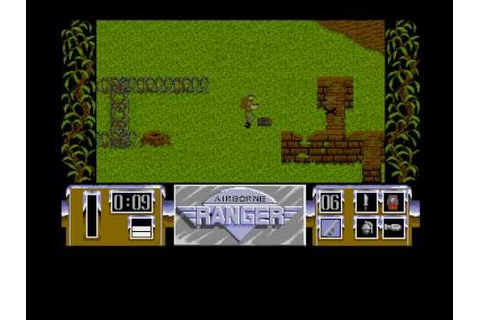 Airborne Ranger for Amiga by MicroProse - YouTube
