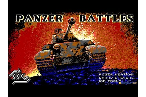 Panzer Battles gameplay (PC Game, 1989) - YouTube