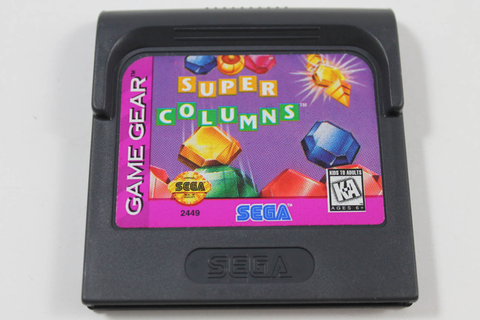 Super Columns - Sega Game Gear