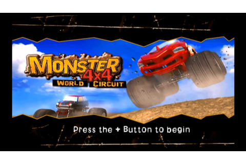 Monster 4X4 World Circuit Wii Gameplay - YouTube