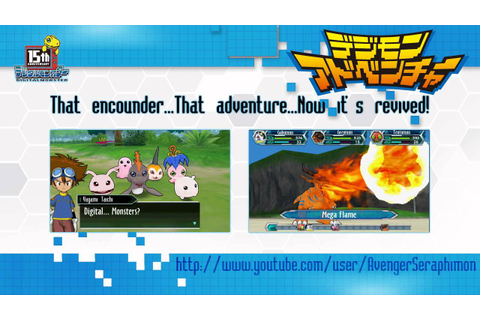 Digimon Adventure The Video Game new screenshots! [PSP ...