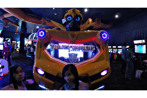 Transformers Human Alliance Arcade Game At Dave & Buster's ...