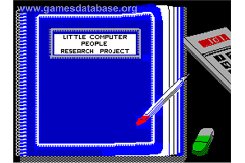 Little Computer People - Sinclair ZX Spectrum - Games Database