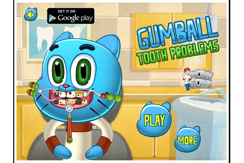The Amazing World Of Gumball Games To Play Dentist - YouTube