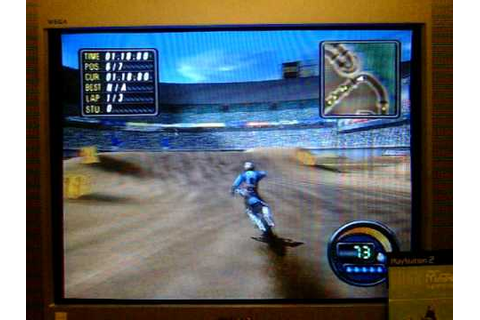 Me Playing Jeremy McGrath Supercross World for the PS2 ...