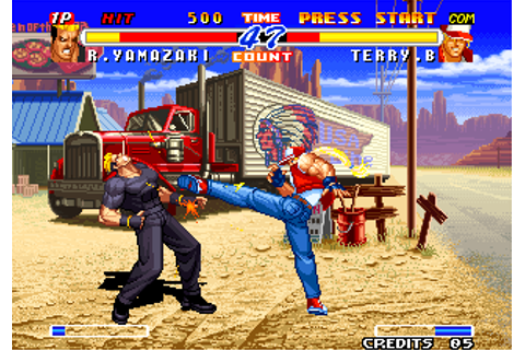 Real Bout Fatal Fury 2 - The Newcomers / Real Bout Garou ...