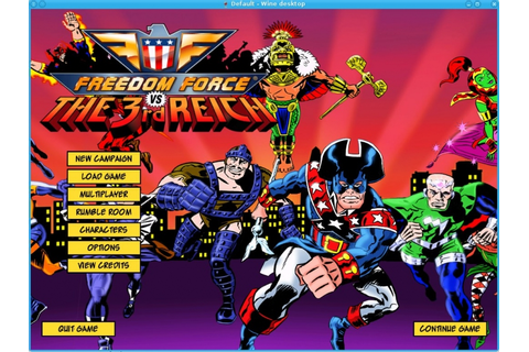 Good Old Games - Freedom Force vs. the 3rd Reich ...