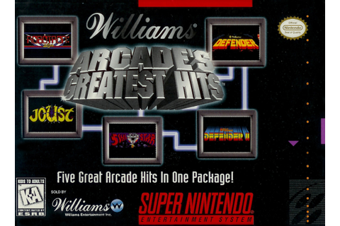Midway Presents Arcade's Greatest Hits — StrategyWiki, the ...