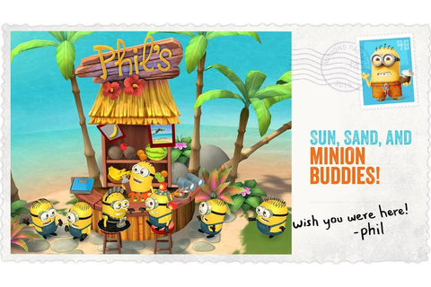 Minions Paradise (for Android and iOS) is the newest game ...