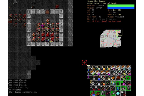 Dungeon Crawl Stone Soup Alternatives and Similar Games ...