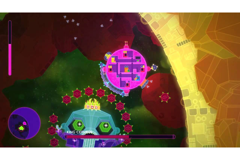 Lovers in a Dangerous Spacetime final boss - YouTube