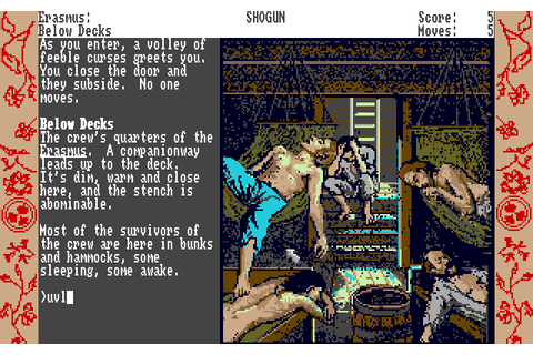 James Clavell's Shōgun (1989) by Infocom Amiga game
