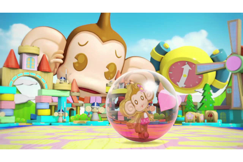 Super Monkey Ball Banana Splitz Video Game, Debut Trailer ...