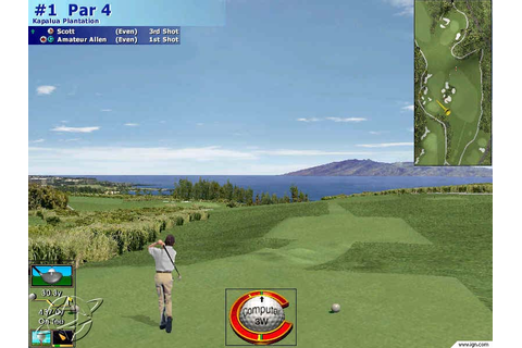 Microsoft Golf 2001 Edition Screenshots, Pictures ...