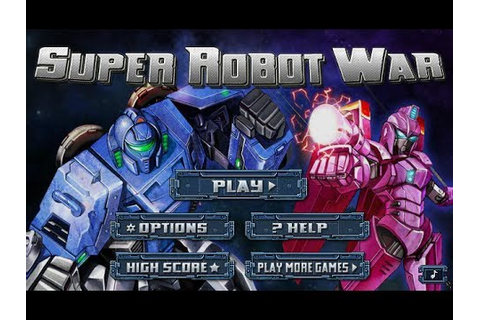 Super Robot War - Mech Battle Game Online - YouTube