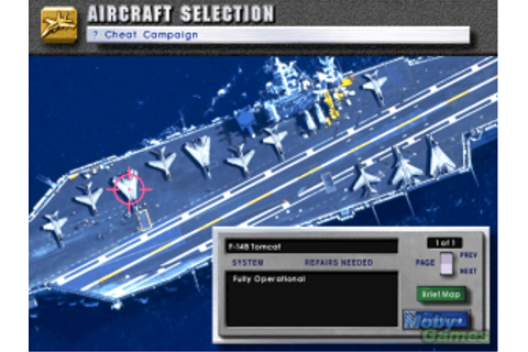 Game Classification : U.S. Navy Fighters (1994)