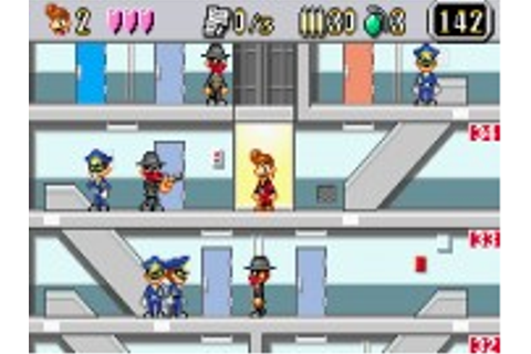 Elevator Action : Old & New - Game Boy Advance Game