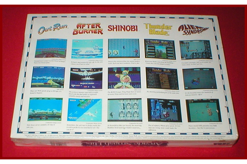 Arcade Smash Hits 5 Games for the Commodore Amiga 500 1000 ...