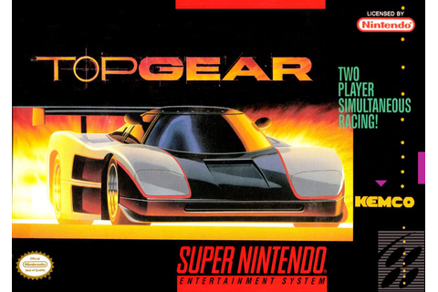 Top Gear SNES Super Nintendo