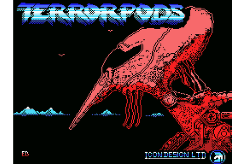 Terrorpods (1989) by Dro Soft MSX game