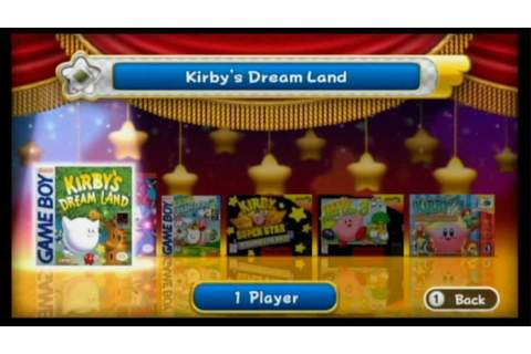 Kirby's Dream Collection Review (Wii) - YouTube