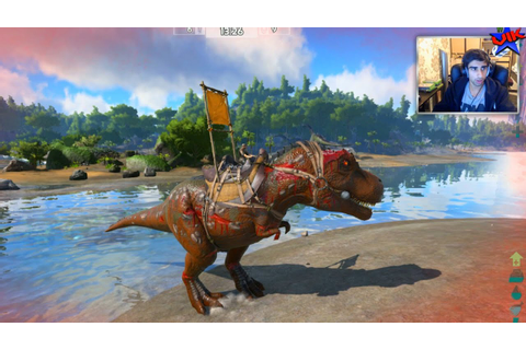 T-REX TIME! - Ark Survival Of The Fittest #3 - Ark Hunger ...
